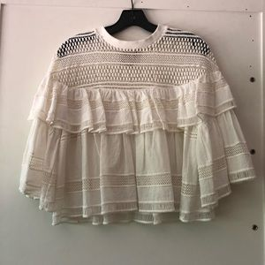 White summer blouse by Sea NY